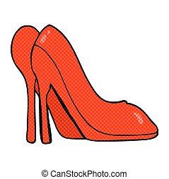 Cartoon High Heel Schuhe.