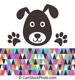 Cartoon-Hund