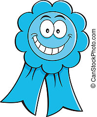 Cartoon Illustration einer Auszeichnung