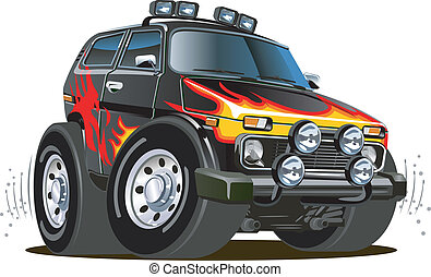 Cartoon-Jeep