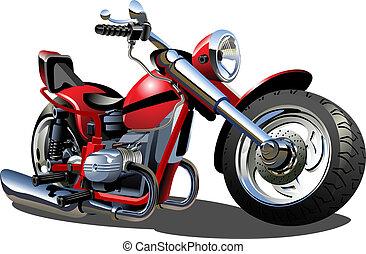 Cartoon Motorrad