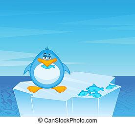 Cartoon Pinguin.