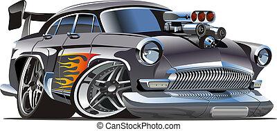 Cartoon Retro-Hot Rod.