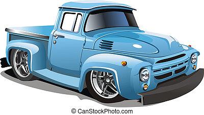 Cartoon Retro Hot Rod