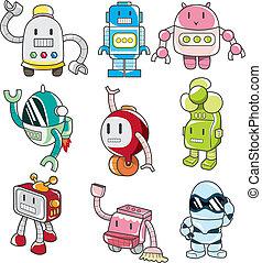 Cartoon Roboter