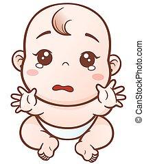Cartoon süßes Baby.