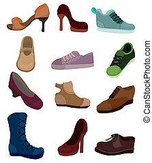 Cartoon-Schuhe-Ikone