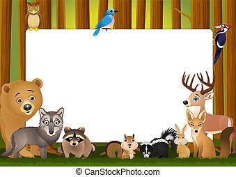 Cartoon-Tier