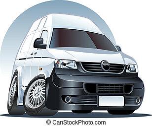 Cartoon Van