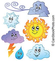 Cartoon-Wetterbilder