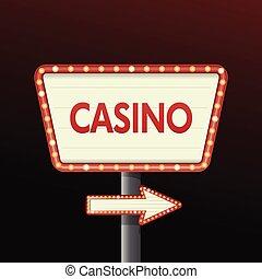 Casino Banner Hintergrund.
