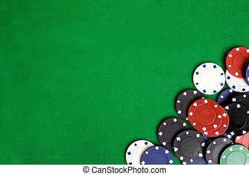 Casino-Chip-Hintergrund
