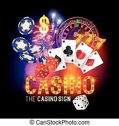 Casino-Party-Vektor