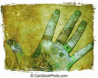 Chakra-Hände
