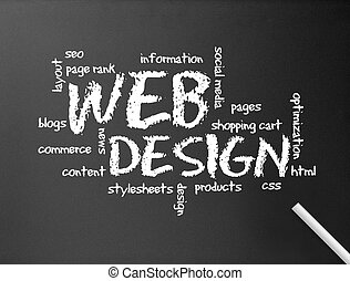 Chalkboard - Webdesign