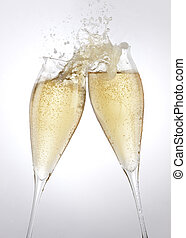 Champagner-Toast