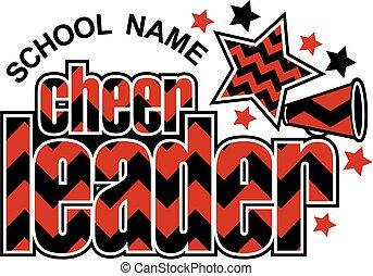Cheerleader Chevron Design.