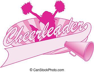 Cheerleader Sprungdesign