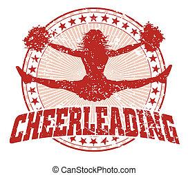 Cheerleading Design - Vintage.