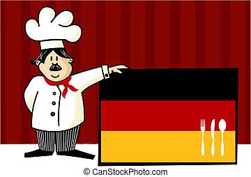 Chef der deutschen Küche