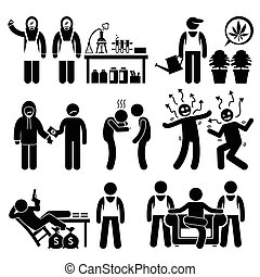 Chemisches Drogensyndikat.