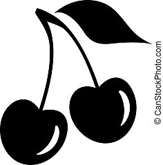 Cherry-Vektor-Icon.