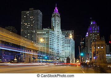 Chicagoer Schnellverkehr.