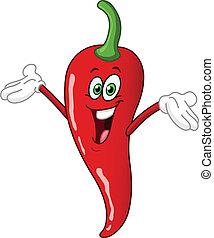Chili Pepper Cartoon
