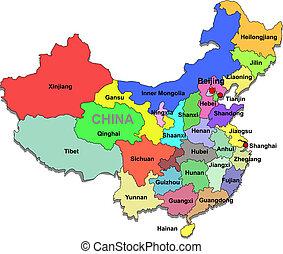 China-Karte