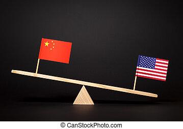 china?united, staaten, verwandtschaft