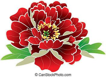 Chinesische Neujahrsblume