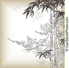 Chinesischer Baumstamm