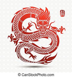 Chinesischer Drache.