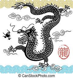 Chinesischer traditioneller Drache