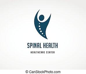 chiropraktik, schmerz, zurück, osteopathie, massage, ikone