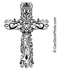 christliche Muster, Kreuzdekoration