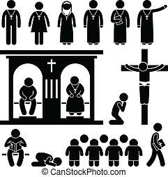 christliche Religionstradition Kirche