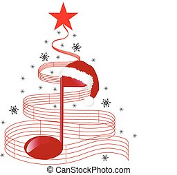 CHRISTMAS Music TREE.