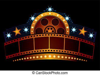 Cinema neon