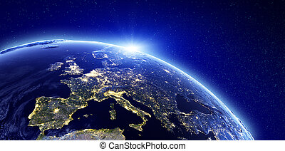 City Lights - Europa