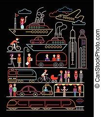Cityscape Vektorgrafik