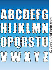 Cloud Alphabet.