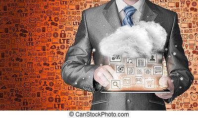 Cloud Computing, Technologieanbindungskonzept.