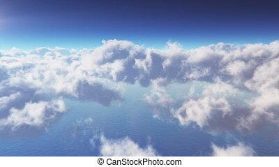 Cloudscape fliegt durch LOOP