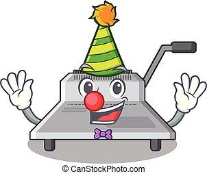 Clown Bindungsmaschine eine in der Figur.