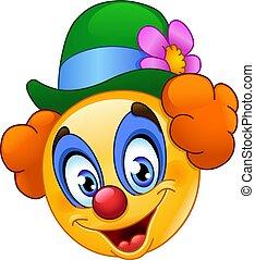 Clown Emoticon.