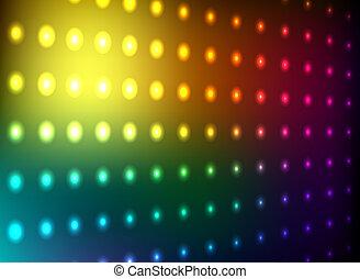 Club-Lichtwand