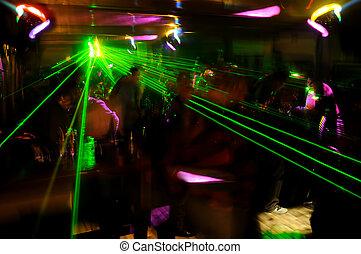 clubbing, atmosphäre