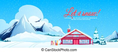 cluburlaub, ski, plakat