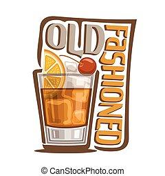 Cocktail altmodisch.